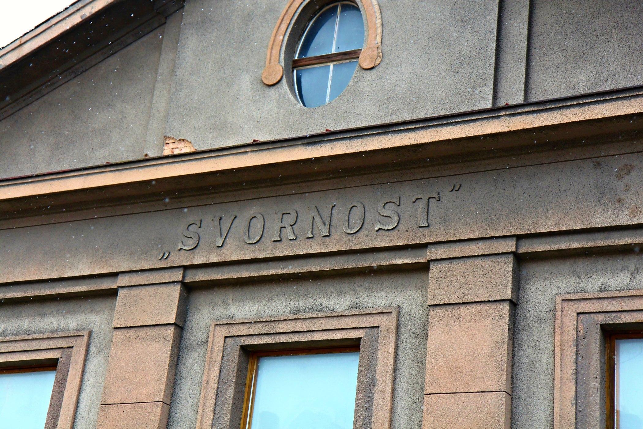 Legendární kulturní dům Svornost v Plzni-Doubravce