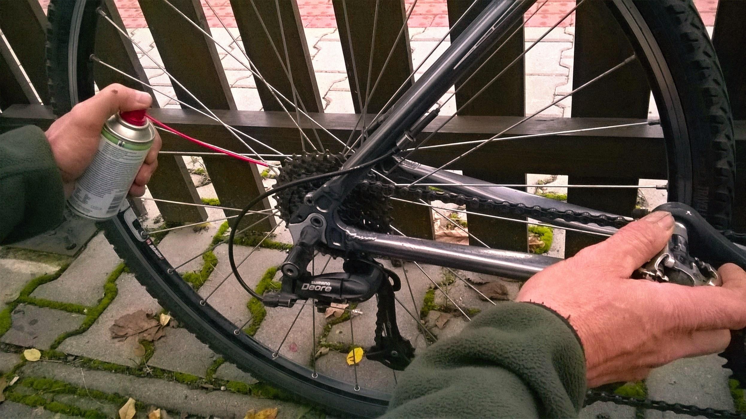Stříkat na kole