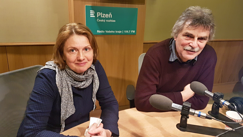 Lenka Merglová Pánková a Jan Mergl