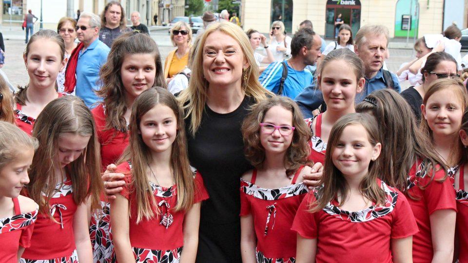 Patronka ZUŠ Open pěvkyně Magdalena Kožená oficiálně zahájila plzeňský happening základních uměleckých škol