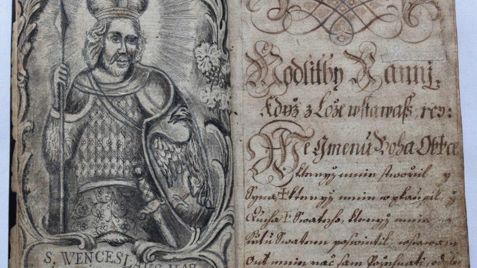 Česká modlitební kniha z roku 1720, pravděpodobně z Příbramska, patří mezi  obsahově bohatší. Na 385 stranách obsahuje modlitby k nejrůznějším svatým a pro různé příležitosti