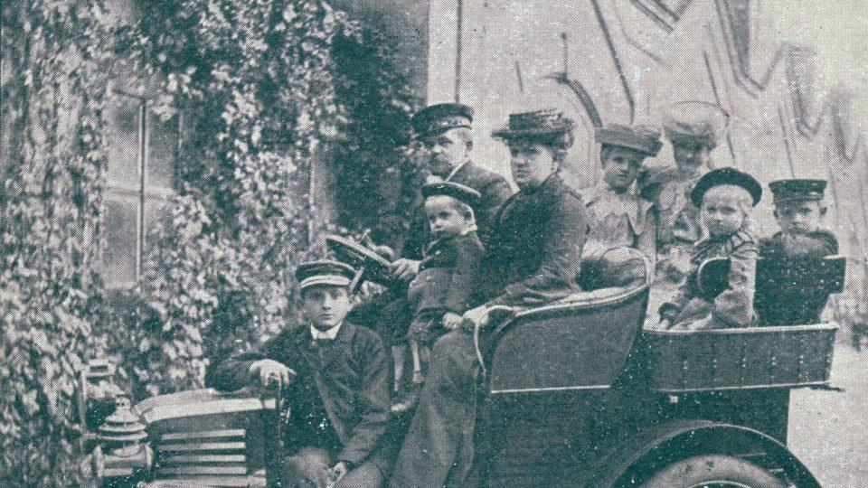 Brožíkovi vlastnili první osobní automobil v Plzni