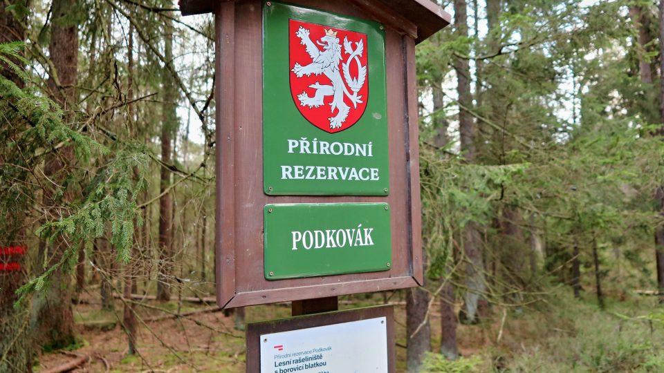 Přírodní rezervace Podkovák