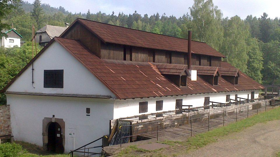 Vodní hamr Dobřív je Národní kulturní památka