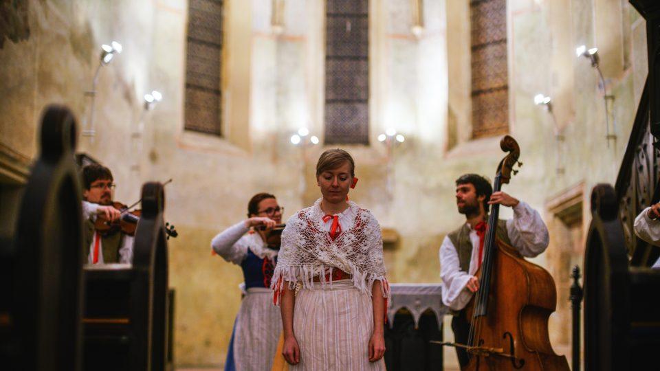 Lidová muzika z Chrástu