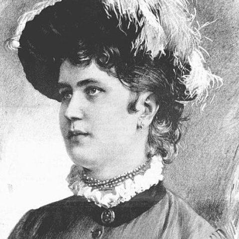 Spisovatelka Gabriela Preissová
