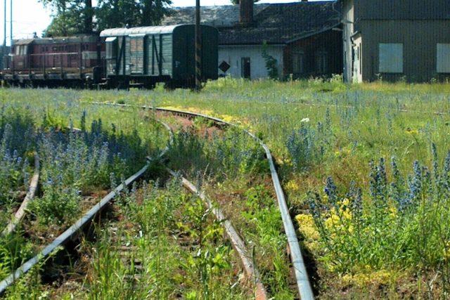 Nevyužívaná železniční trať