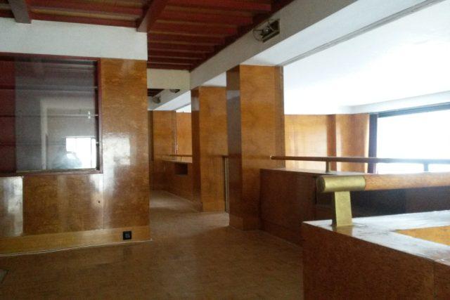 Loosův interiér v Klatovské 110 v Plzni prochází rekonstrukcí
