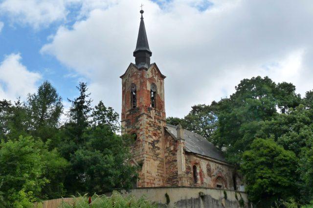 Kostel sv.Jiří v Lukové na Manětínsku
