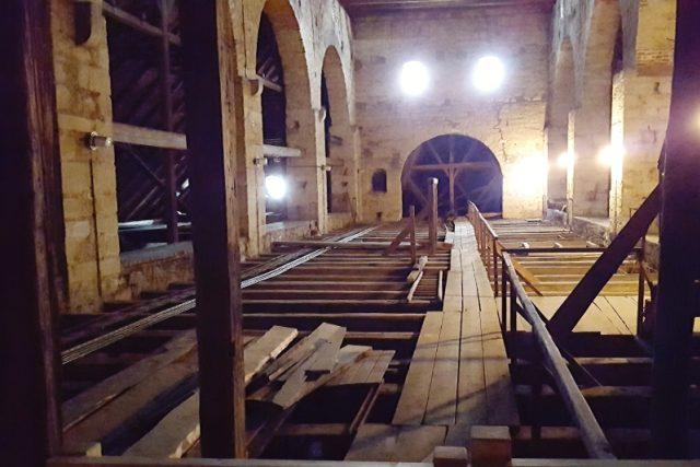Půda katedrály sv. Bartoloměje v Plzni