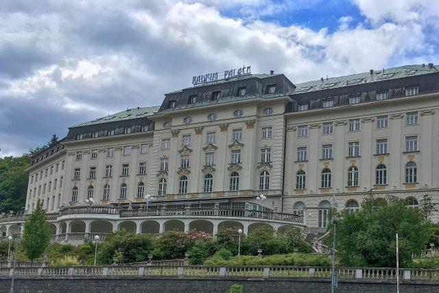 Radium Palace v Jáchymově