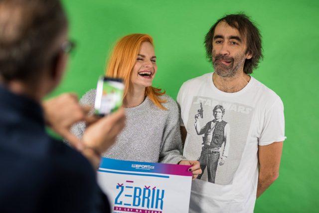 Vyhlašovacím večerem 27. ročníku ankety Žebřík provedou Iva Pazderová a Jakub Kohák
