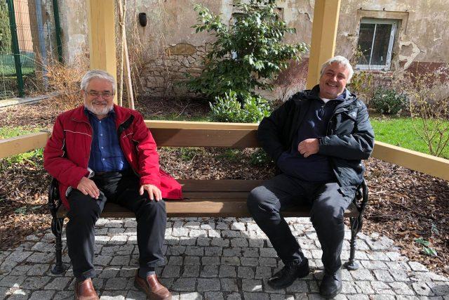 Karel Mareček a Rudolf Tyller